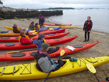 Kayak Instruction at Coastal Maine Kayak