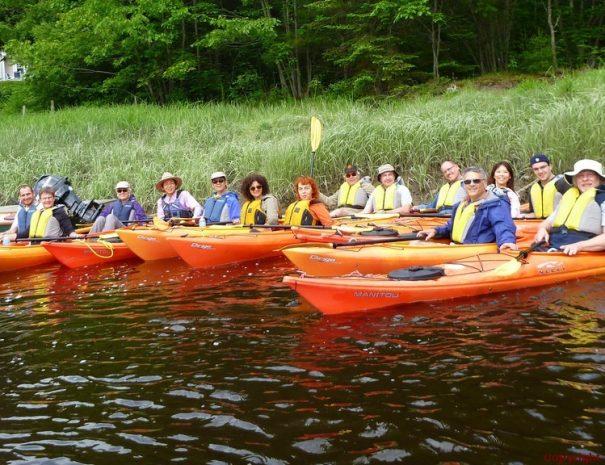 Enjoy Coastal Maine Kayak Guided Tours Kayak | SUP | Bike